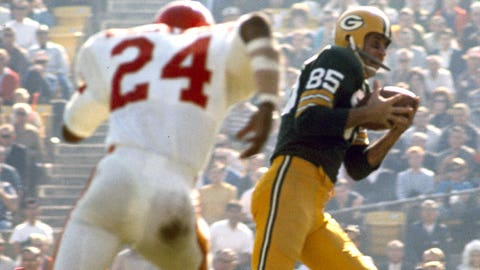 Super Bowl I: The first touchdown in Super Bowl history