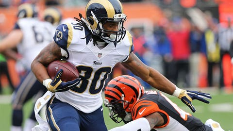 Offensive Rookie of the Year: St. Louis running back Todd Gurley