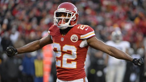 Defensive Rookie of the Year: Kansas City cornerback Marcus Peters