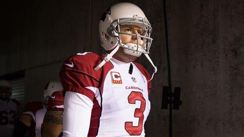 Comeback player: Arizona quarterback Carson Palmer