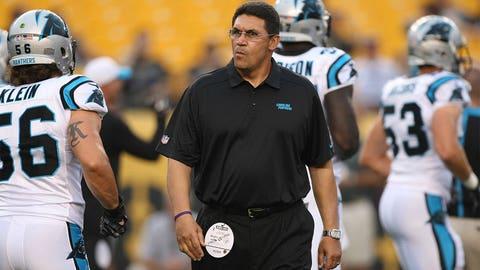 Coach of the Year: Carolina's Ron Rivera