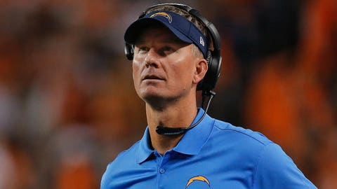 Chargers head coach Mike McCoy's late-game management