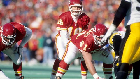 Montana had more playoff success in one year than the Chiefs had in the previous 20