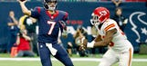 Brian Hoyer had a historically bad game against the Chiefs