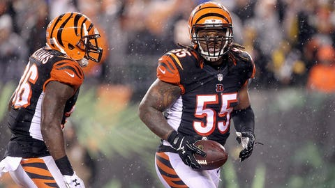 Vontaze Burfict's tunnel-run celebration