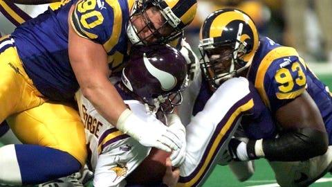 2000 divisional: St. Louis 49, Minnesota 37