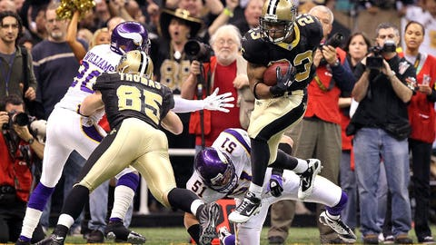 2010 NFC Championship game: New Orleans 31, Minnesota 28 (overtime)