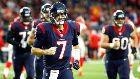 LOSER: Houston quarterback Brian Hoyer