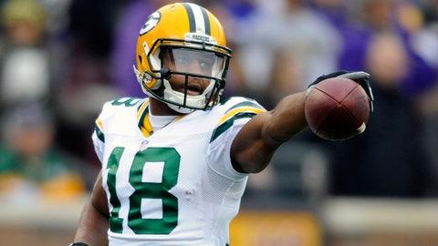 Randall Cobb, Green Bay Packers: $10 million