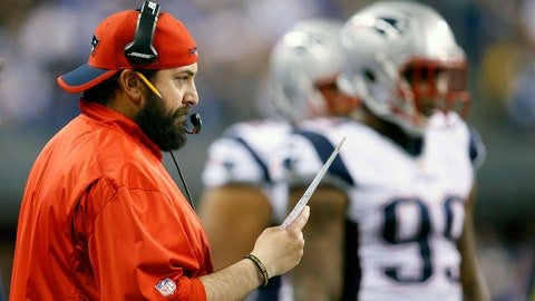 Matt Patricia, Patriots defensive coordinator