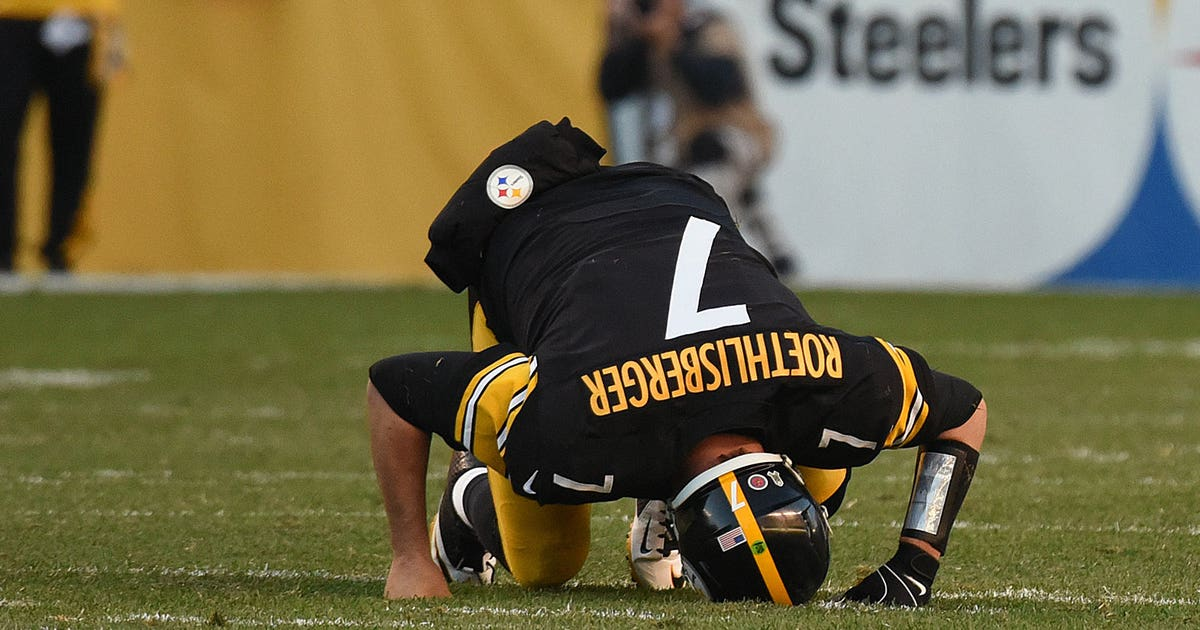 9b0f3407f 8 times Pittsburgh Steelers QB Ben Roethlisberger played through the pain