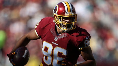 Jordan Reed receiving yards OVER 55.5