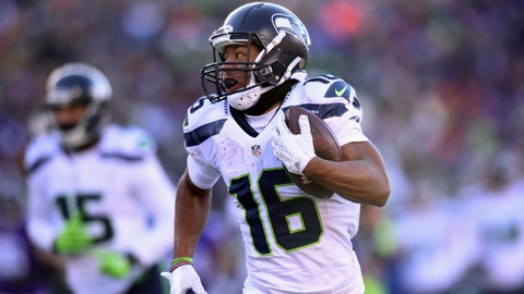 Return specialist: Tyler Lockett, Seattle Seahawks
