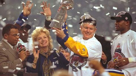 2000: Super Bowl XXXIV champions