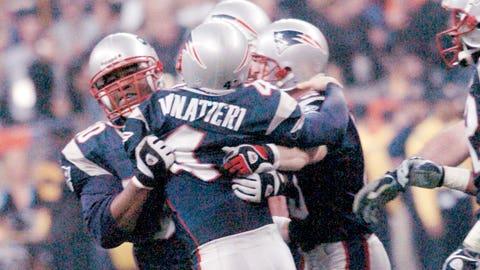 Super Bowl XXXVIII: Adam Vinatieri comes through -- again