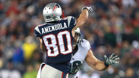 1. Amendola-to-Brady trickery is a thing of beauty