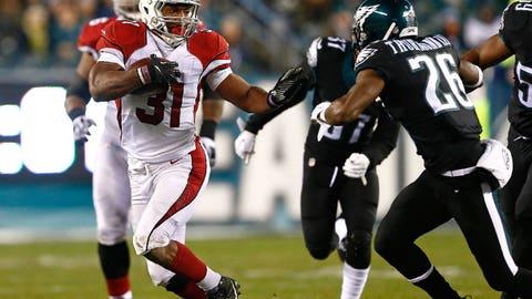 Game 14: Cardinals 40, Eagles 17