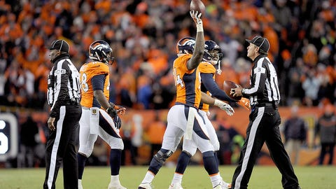 Divisional playoff: Broncos 23, Steelers 16