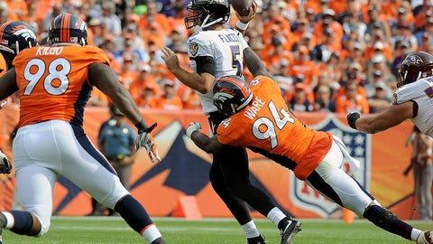 Game 1: Broncos 19, Ravens 13