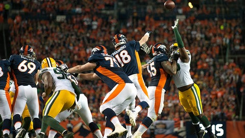 Game 7: Broncos 29, Packers 10