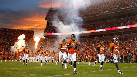 The Broncos' road to the Super Bowl