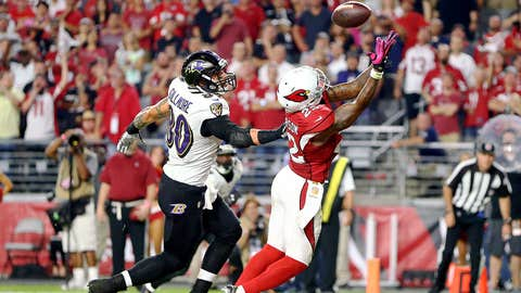 4. Tony Jefferson picks off the Ravens