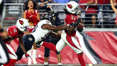 2. Chris Johnson goes belly-up and keeps running