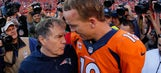Belichick brushes off Manning's 'on to New England' comment
