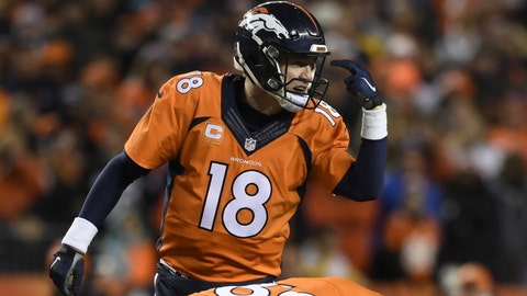 Top 10 plays from the Broncos' 2015 season