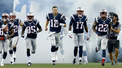 The Patriots' road to the AFC title game