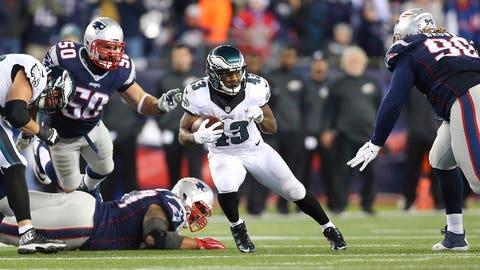 Game 12: Eagles 35, Patriots 28