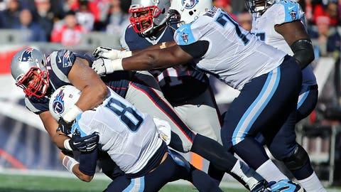 Game 14: Patriots 33, Titans 16