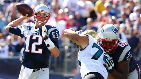 Game 3: Patriots 51, Jaguars 17
