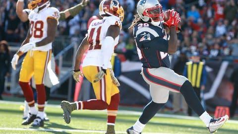 Game 8: Patriots 27, Redskins 10