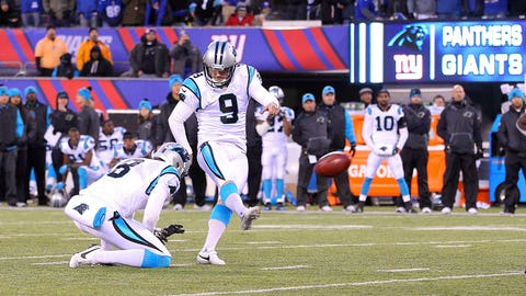 The game-saving game-winner by Graham Gano against Giants