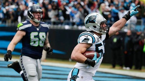 Luke Kuechly puts Seattle in a 14-0 hole early