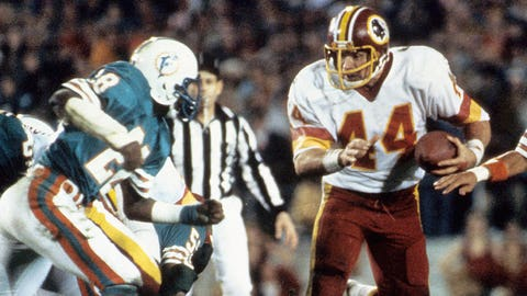 Super Bowl XVII: John Riggins breaks free on fourth down