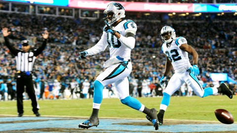 Philly Brown, wide receiver, Panthers