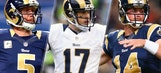 Rams pick a starting quarterback … for the start of OTAs