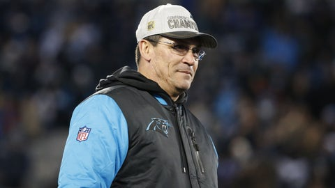 Coach of the Year: Carolina's Ron Rivera