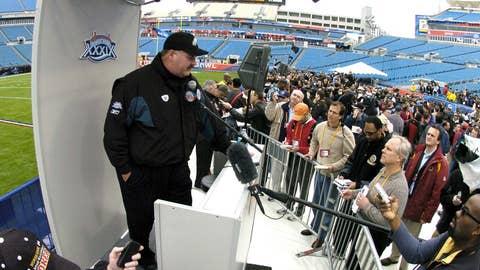 Andy Reid, Philadelphia, Super Bowl XXXIX