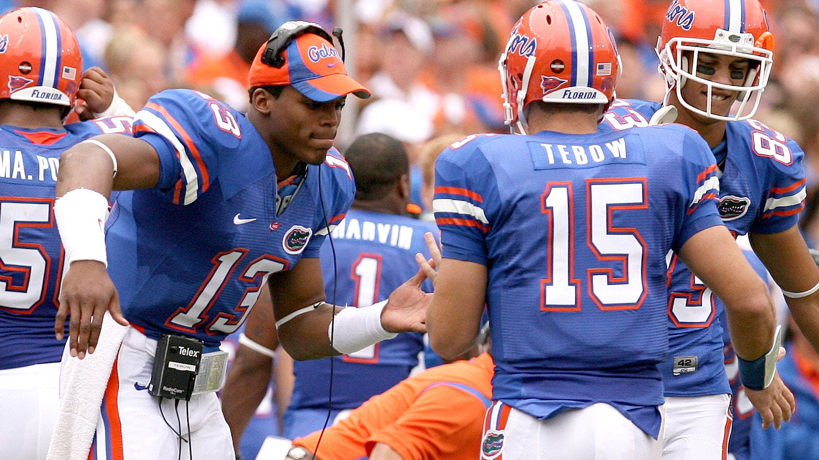 new styles 16a38 44a8b TBT: When Cam Newton was Tim Tebow's backup QB | FOX Sports