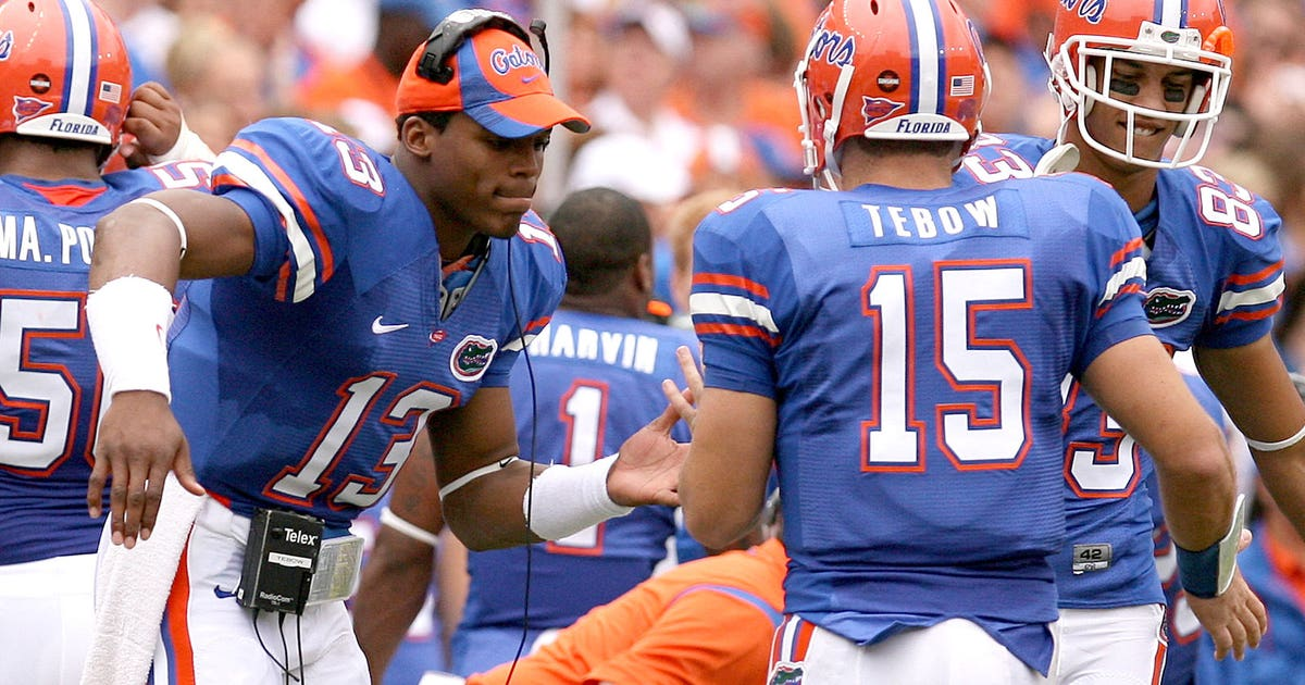TBT  When Cam Newton was Tim Tebow s backup QB  4b0e3771c