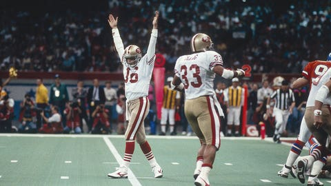 Super Bowl XXIV (New Orleans): 49ers 55, Broncos 10