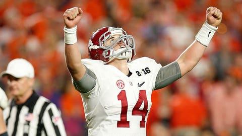 Fall: Alabama QB Jake Coker