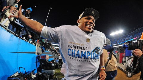 Most Valuable Player: Carolina quarterback Cam Newton