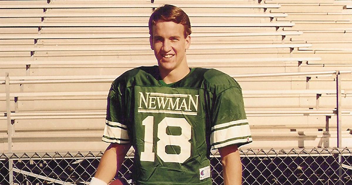 Even Peyton Manning's high school teammates couldn't predict