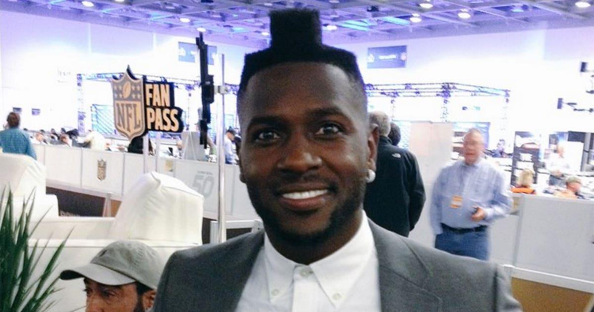 Steelers wr antonio brown has finally named his outrageous haircut steelers wr antonio brown has finally named his outrageous haircut fox sports winobraniefo Gallery