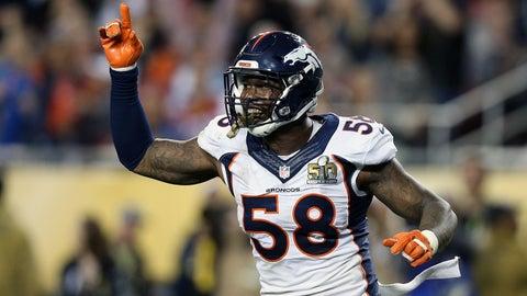 Von Miller, outside linebacker, Broncos