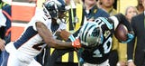 Report: NFL considers suspending Aqib Talib for brutal facemask penalty in Super Bowl 50